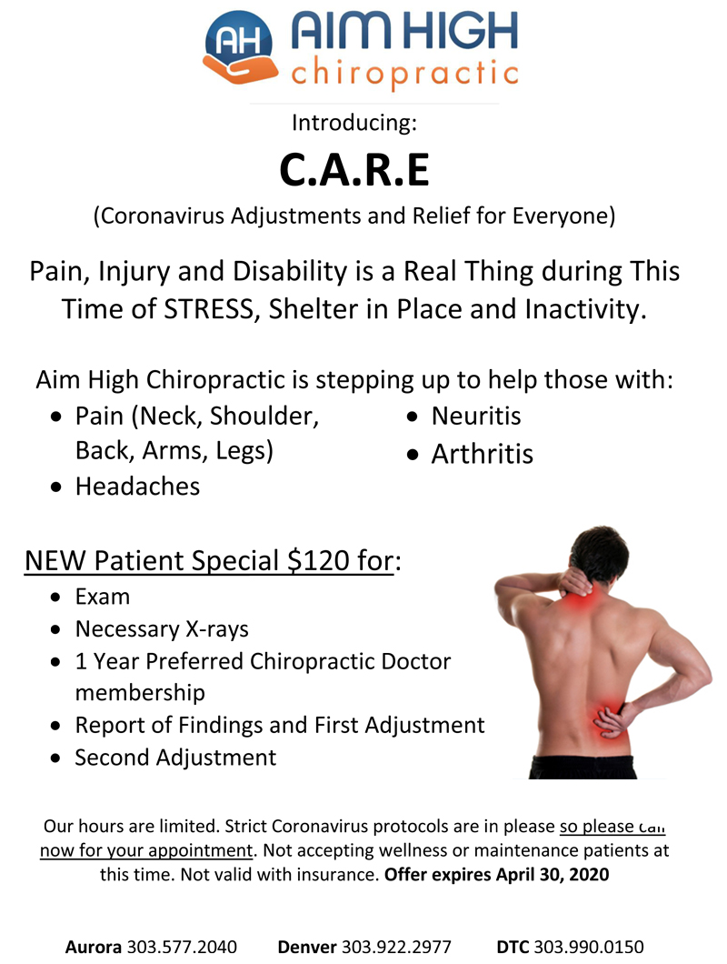 Overcoming Back Pain at Aim High Chiropractic