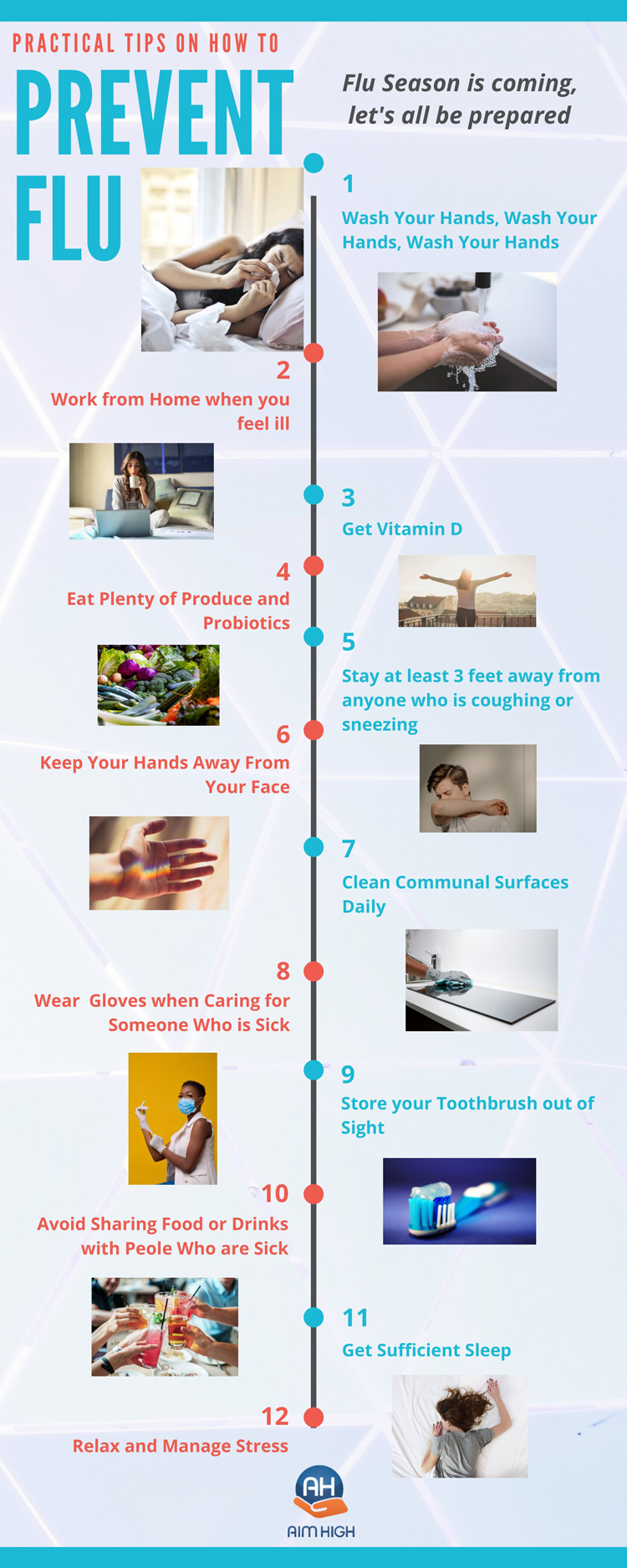 Practical Tips On How To Prevent The Flu in Denver CO