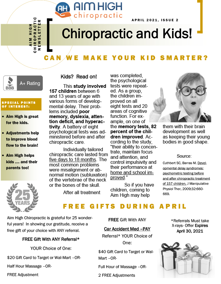 Chiropractic Care for Kids in Denver CO