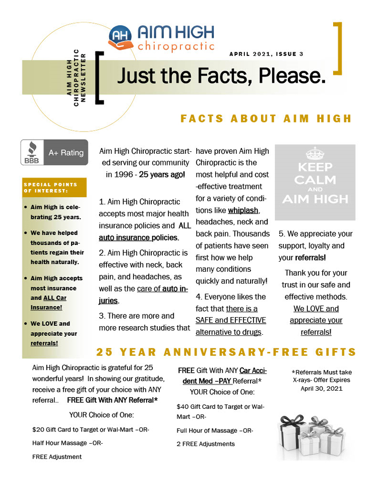 Chiropractic Denver CO Facts About Aim High Chiropractic
