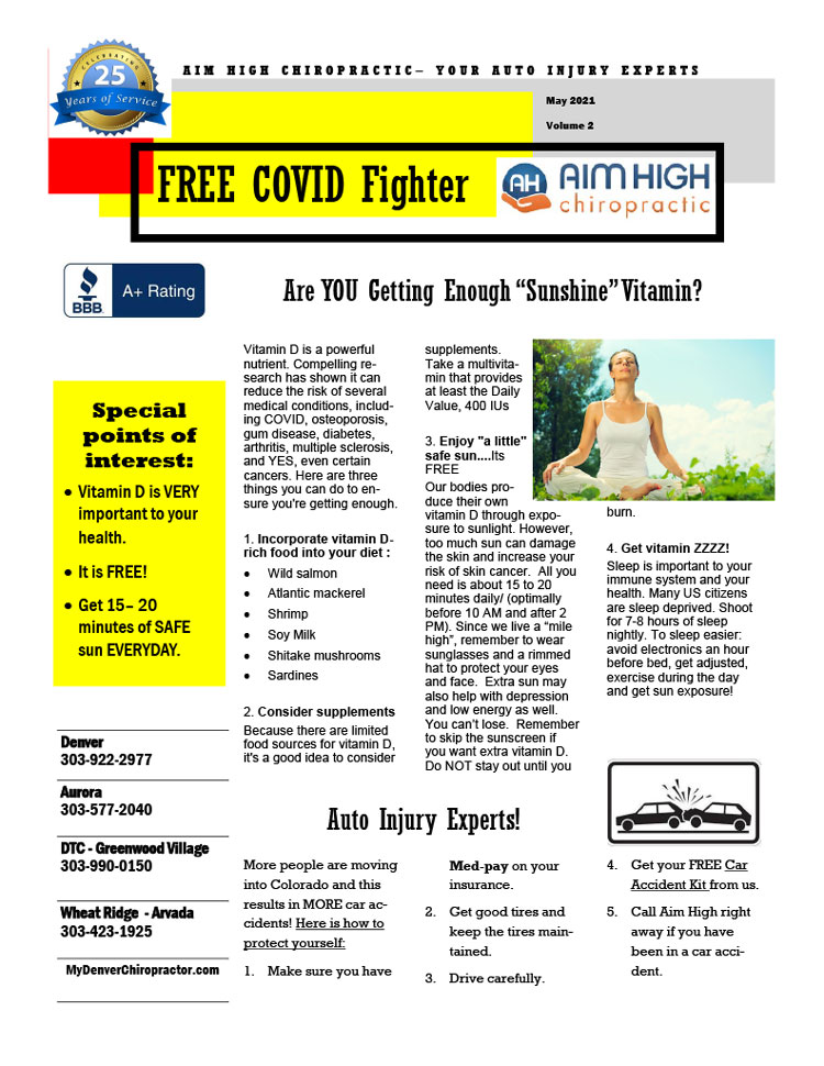 Chiropractic Denver CO Free COVID Fighter